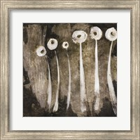 White Flowers Abstract II Fine-Art Print