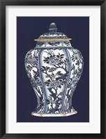 Blue & White Porcelain Vase II Fine-Art Print