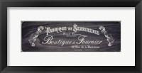 French Elegance - charcoal Fine-Art Print
