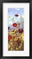 Meadow Florals I - Mini Fine-Art Print