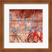 Love my Bike - Mini Fine-Art Print