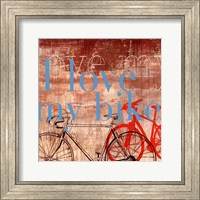Love my Bike - Mini Fine-Art Print
