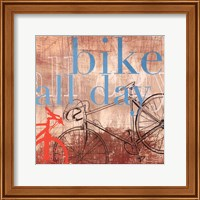 Bike all Day - Mini Fine-Art Print