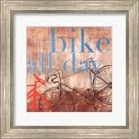 Bike all Day - Mini Fine-Art Print