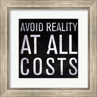 Avoid Reality - Mini Fine-Art Print