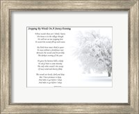 Stopping by Woods on a Snowy Evening by Robert Frost Fine-Art Print