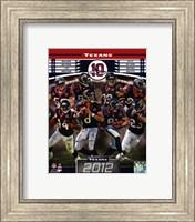 Houston Texans 2012 Team Composite Fine-Art Print