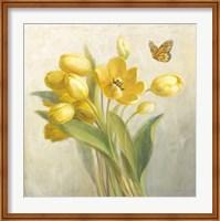 Yellow French Tulips Fine-Art Print