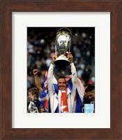 David Beckham with the 2012 MLS Cup Trophy Fine-Art Print