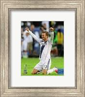 David Beckham Celebrates Winning the 2012 MLS Cup Fine-Art Print