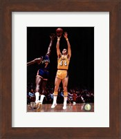Jerry West 1975 Action Fine-Art Print