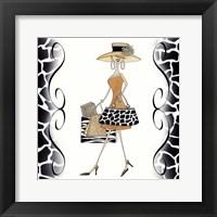 Swanky Shopper Gal Fine-Art Print