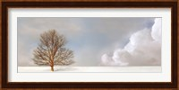 Alone in the Whiteness Fine-Art Print