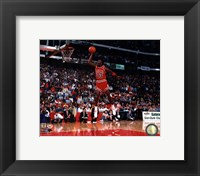 Michael Jordan 1988 NBA Slam Dunk Contest Action Fine-Art Print
