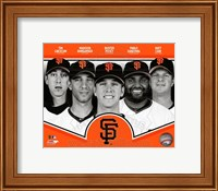 San Francisco Giants 2013 Team Composite Fine-Art Print