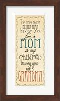 Mom & Grandma Fine-Art Print
