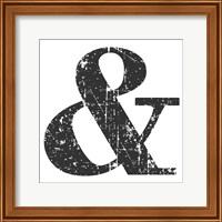 Black Ampersand Fine-Art Print