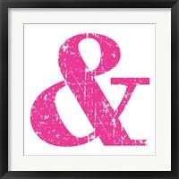 Pink Ampersand Fine-Art Print