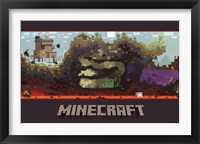 Minecraft - World Wall Poster