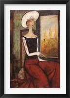 La Chapeau Blanc Fine-Art Print