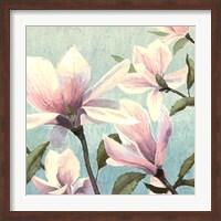 Southern Blossoms I Square Fine-Art Print