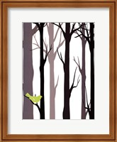 Forest Silhouette I Fine-Art Print