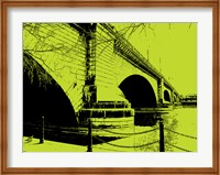 London Bridges on Lime Fine-Art Print