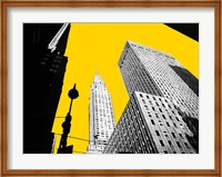 New York on Yellow Fine-Art Print