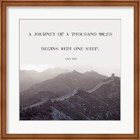 A Journey Of A Thousand Miles Fine-Art Print