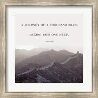 A Journey Of A Thousand Miles Fine-Art Print