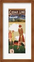 Cedar Line Fine-Art Print