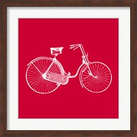 Red Bicycle Fine-Art Print