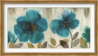Teal Flowers Fine-Art Print