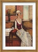 Le Caf Rouge Fine-Art Print