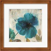 Teal Splash I - Mini Fine-Art Print
