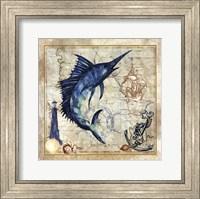 Nautical Swordfish Fine-Art Print