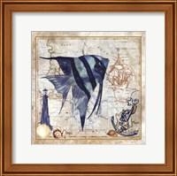 Nautical Fish I Fine-Art Print