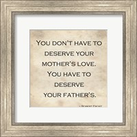 Your Father's Love Fine-Art Print
