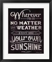 Wherever You Go Fine-Art Print
