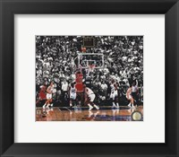 Michael Jordan 1998 NBA Finals Game Winning Shot Fine-Art Print