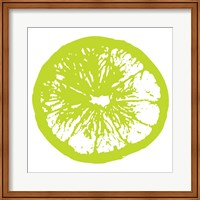 Lime Orange Slice Fine-Art Print