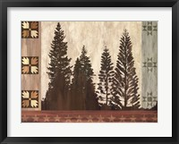 Pine Trees Lodge I Fine-Art Print