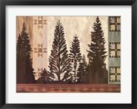 Pine Trees Lodge II Fine-Art Print