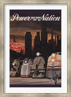 Power that serves the Nation Fine-Art Print