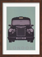 London - Cab I Fine-Art Print