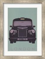 London - Cab I Fine-Art Print