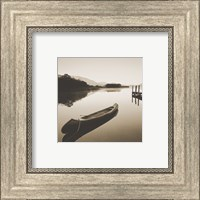 Lake Shore I - Sepia Fine-Art Print