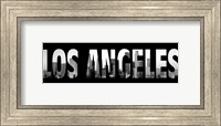 Los Angeles Stencil Fine-Art Print