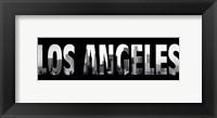 Los Angeles Stencil Fine-Art Print