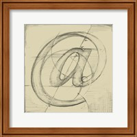 Drafting Symbols I Fine-Art Print